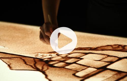 passion2move-erlebnis-kommunikation-arts-sandshow-sandmalerei-sandart-liebherr-vernessa-player